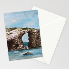 Playa de las catedrales Stationery Cards