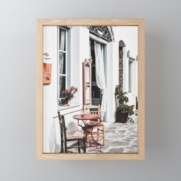 Amorgos Greece Framed Mini Art Print