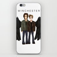 supernatural iPhone & iPod Skins featuring supernatural by fluidgold