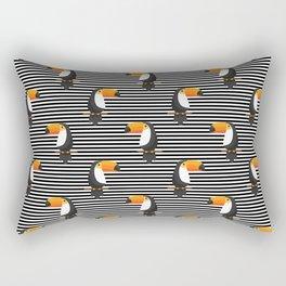 TOUCANS PATTERN tropical toucan Rectangular Pillow