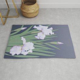 Japanese Water Iris Rug