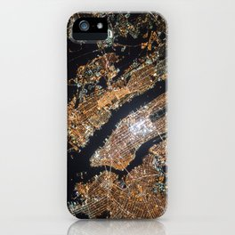 New York From Above iPhone Case