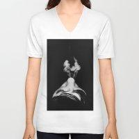 smoke V-neck T-shirts featuring Smoke by Renata's Photobox