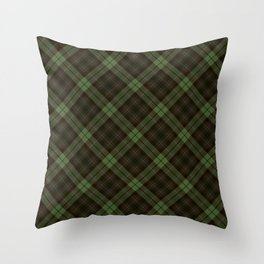 Scottish tartan #43 Throw Pillow