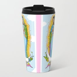 Virgen de Guadalupe Travel Mug