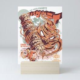 The Kaiju Spaghetti Mini Art Print