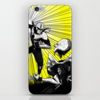 fight iPhone & iPod Skins featuring Fight by TrueLoveStory