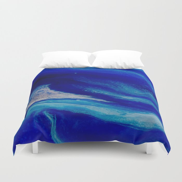 Blue Inlet Duvet Cover