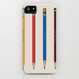 Art not War - Pencils iPhone Case