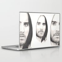 jared leto Laptop & iPad Skins featuring jared leto... by als3