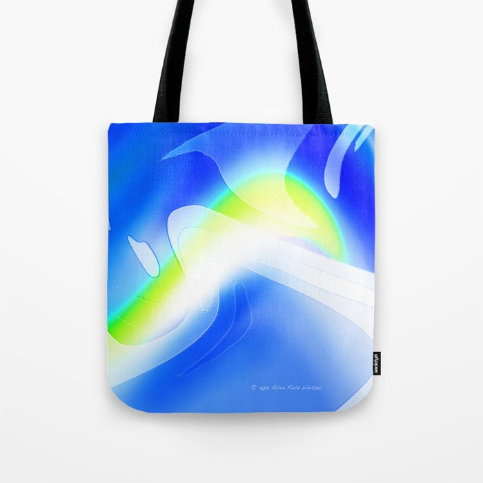 """'70's Lava Lamp"" Photograph Tote Bag"