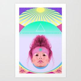 Loli Lu Lu Art Print