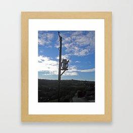 Sub Stereo 1 Framed Art Print