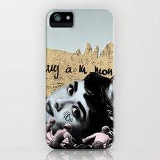 Audrey Hepburn à la montagne iPhone (5, 5s) Slim Case