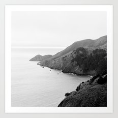 Golden Gate Lookout No. 2 Art Print