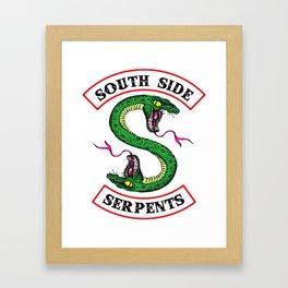 Southside Serpents-Riverdale Framed Art Print