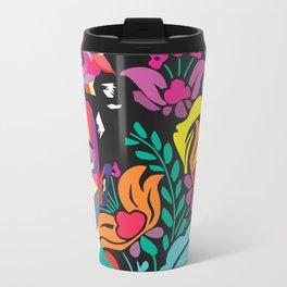 Frida Flores Metal Travel Mug