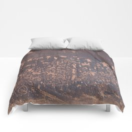 Newspaper Rock Comforters