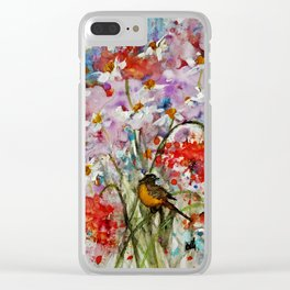After the rain.. Clear iPhone Case
