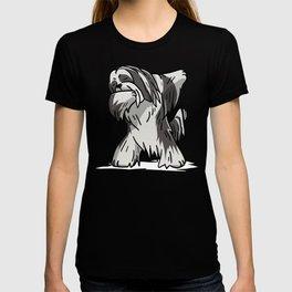 Funny Dabbing Lhasa Apso Dog Dab Dance T-shirt