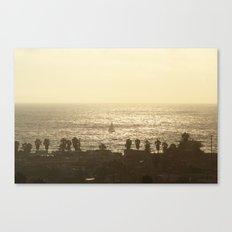 Sailboat - Marina del Rey, CA Canvas Print