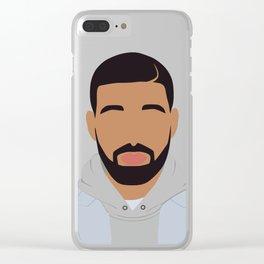 Drake Minimalist Clear iPhone Case