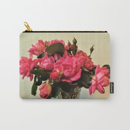 Pink Roses Bouquet 2 Carry-All Pouch