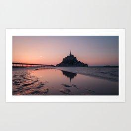 Le Mont-Saint-Michel Art Print