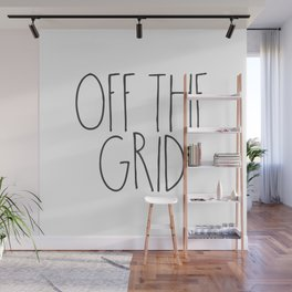 Off the Grid Wall Mural