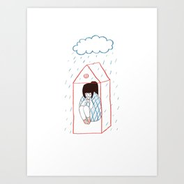 sweet home Art Print