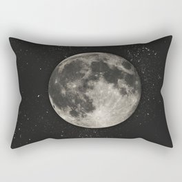 The Moon  [Sans Type] Rectangular Pillow