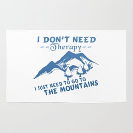 GO TO THE MOUNTAINS Rug