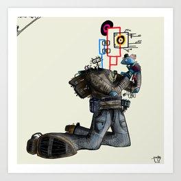 Modernite #7 Art Print
