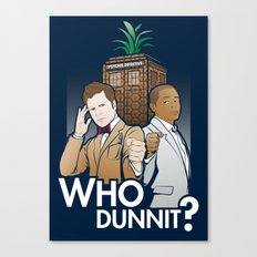 Who Dunnit? Canvas Print