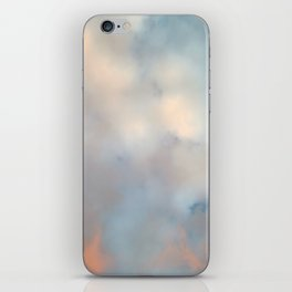 Ireland's sky - Pastel Cloudscape iPhone Skin