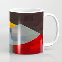 Otto Freundlich Komposition 1930 Mid Century Modern Abstract Colorful Geometric Painting Pattern Art Coffee Mug