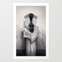architect Art Prints featuring Cloth Architect by Mark Facey