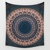boho Wall Tapestries featuring Boho by Jane Lacey Smith