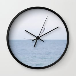 Tern with Dinner Wall Clock