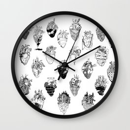 The Anatomy of a Heart Pattern Wall Clock