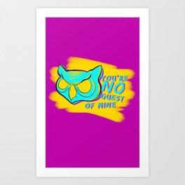An Eye For Secrets Art Print