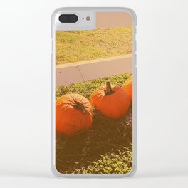 Line 'Em Up Clear iPhone Case