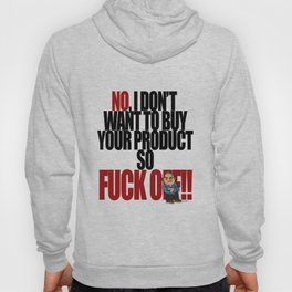 Get off my back - 5a Hoody
