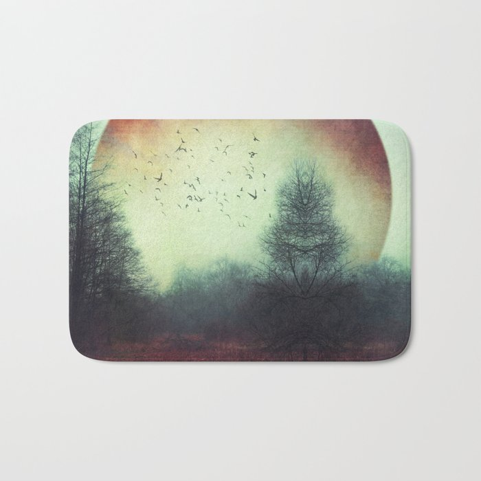 unReality - Fantastic Landscape with Red Planet Bath Mat