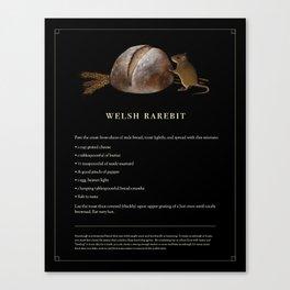 Welsh Rarebit Canvas Print