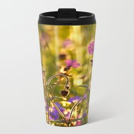 Summer Dream Wildflowers Meadow #decor #society6 Travel Mug