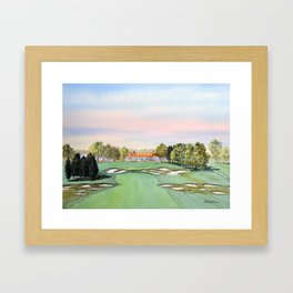 Bethpage State Park Golf Course Framed Art Print