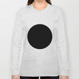 The Circle – Black Long Sleeve T-shirt