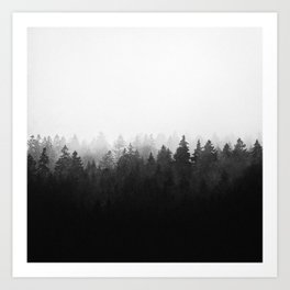 A Wilderness Somewhere Art Print