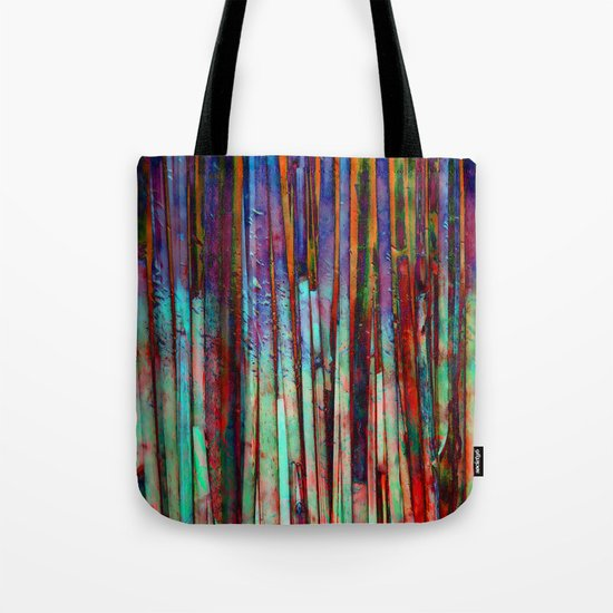 Colored Bamboo 2 Tote Bag